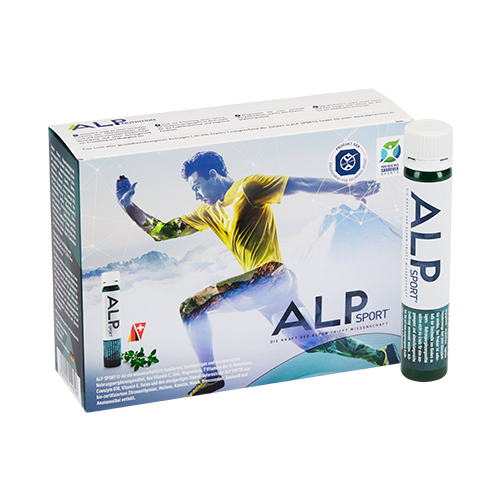 ALP SPORT multivitamins and minerals ampoules